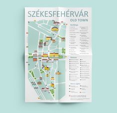 Visual identity of Székesfehérvár's tourist information. The brand's main elements are the sights of the city executed in a simple geometric style. Map Design, Book Design, Culture Quotes, Hotels For Kids, Travel Itinerary Template, Thailand Travel Guide, Tourist Information, Templates Printable Free, Packing Tips For Travel