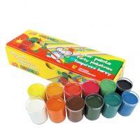 Temperové barvy v kelímku 12 barev Tempera, White Out Tape, Office Supplies