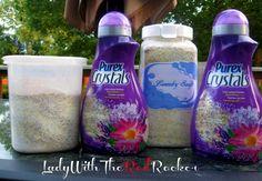 {DIY} Laundry Soap *New and Improved!* #laundrysoap #diylaundrysoap ~LadyWithTheRedRocker~