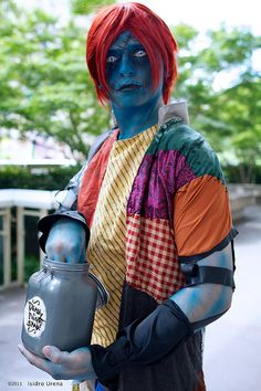 GenderBent Sally - Nightmare before Christmas #cosplay | Dragon Con 2013