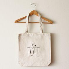 Oh Leander. Le Tote Bag (Large). $25.00