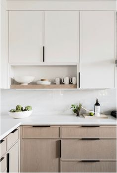 New and Old Looking Modern Kitchen Renovation Styles. Small kitchen design with black wood cabinet. – White N Black Kitchen Cabinets Home Decor Kitchen, New Kitchen, Home Kitchens, Kitchen Dining, Kitchen Layout, Kitchen Counters, Wood Countertops, Open Shelf Kitchen, Kitchen Ideas For Small Spaces