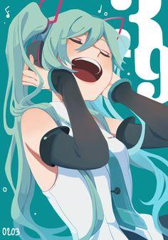 Everyday is Miku day! Vocaloid, Manga Anime, Anime Art, Mikuo, O Gas, Estilo Anime, Manga Illustration, Cute Drawings, Anime Characters