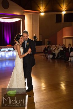 Midori Photography LLC Wedding picture first dance bride and father Astrodome  Akron Canton Cleveland Ohio http://www.midoriphotography.com