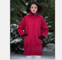 Wool Coat Winter Jacket Wool Jacket Women Cashere Jacket
