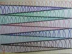 reprise des activités ! Cette semaine, en graphisme, nous multiplions les boucles...  ...