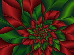 Red and Green Fractal