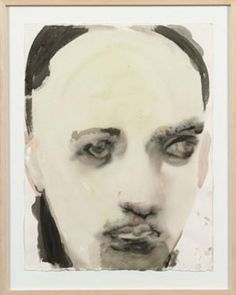 Marlene Dumas. An interesting deconstruction style, can't look away.