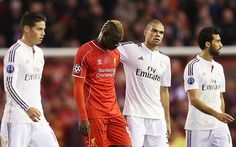 Balotelli risks ire of Liverpool fans with half-time shirt swap against Real Madrid