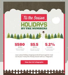 Holiday Email HTML email marketing design