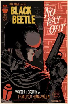 Comic Book Artist: Francesco Francavilla | Abduzeedo Design Inspiration & Tutorials