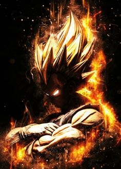 Anime Goku Aura Instinct