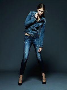 Ashlees Loves: Denim day or night, a must have! #Denim #fashion #style