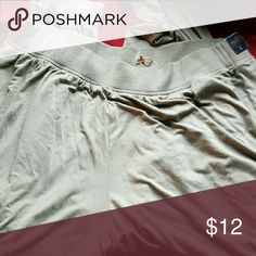 Hollister light weight jogger pants These pants are soft and comfy! Great for working out, going to the store or even sleeping in. A believe these are a light olive color. Hollister Pants Track Pants & Joggers