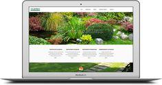 Pàgina web per l'empresa A.S. Jardiners empresa especialitzada en podes i manteniments de jardins.