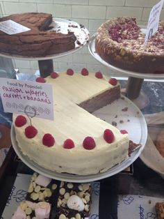 Cakes at the RWA cafe