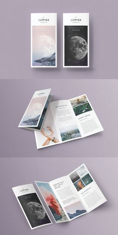 The best trifold brochure template designed are offered here, It is easy to edit for print options. Photoshop Brochures for business. Graphic Design Brochure, Brochure Layout, Graphic Design Typography, Brochure Template, Leaflet Design, Booklet Design, Design Templates, Pamphlet Design, Design Poster
