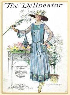Edwardian Fashion 1917