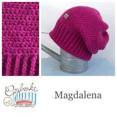 Tunella's Geschenkeallerlei präsentiert: das ist Magdalena, eine geniale gehäkelte Haube/Mütze aus einer Alpaka/Wolle/Acryl-Mischung - du kannst dich warm anziehen, dank sorgfältigem Entwurf, liebevoller Handarbeit und deinem fantastischen Geschmack wirst du umwerfend aussehen #TunellasGeschenkeallerlei #Häkelei #drumherum #Beanie #Pudelhaube #Haube #Mütze #Alpaka #Wolle #Magdalena