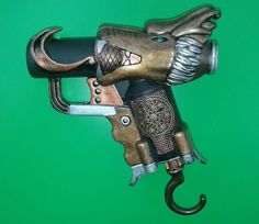 Picture of Steampunk dragon-styled NERF Jolt, May have found a dragon head for my nerf cosmod