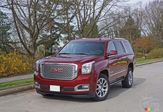 2016 #GMC #Yukon #Denali is luxurious with blue-collar cachet | Car Reviews | Auto123