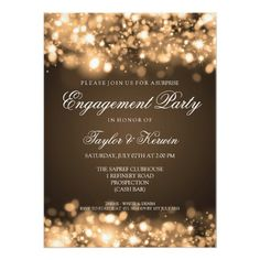 Wedding Engagement Party Sparkling Lights Gold X Invitation Card Bachelorette Party Invitations, Rehearsal Dinner Invitations, Engagement Party Invitations, Wedding Rehearsal, Birthday Invitations, Christmas Invitations, Shower Invitations, Anniversary Invitations, Bachelorette Ideas
