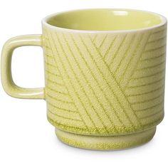 Oliver Bonas mug Green Cushions, Mug Cup, Tea Time, Take That, Mid Century, Colours, Ceramics, Contemporary, Mugs