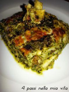 4 passi nella mia vita: Primi piatti: Lasagne al pesto