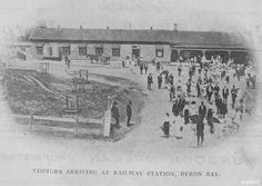 Opening of Byron Bay Railway Station (New South Wales) on 15 May 1894.A♥W