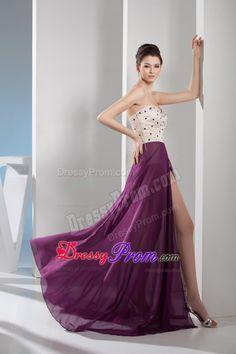 sweetheart purple chiffon bridesmaid dress - Google Search