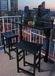 Aménager son balcon dans le style de New York
