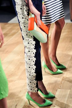 J.Crew S/S 2013. Photo by 9to5Chic.