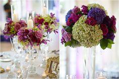 purple wedding Gina Cristine Photography