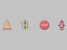 Traffic designed by Kendall Henderson. Connect with them on Dribbble; the global community for designers and creative professionals. Kendall, Creative, Signs, Shop Signs, Sign