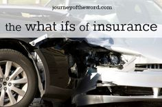 "Featured on Coffee and Conversation #101 - The intelligence of our modern age has done a dandy job of solving the ""what ifs"" of life. What if you have a car accident? Insurance. What if you receive a serious diagnosis? Interesting thoughts to contemplate..."