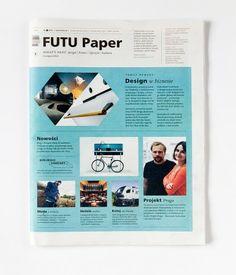 FUTU PAPER  nr 1, listopad 2012     Wystartował FUTU Paper, nowość na polskim rynku wydawniczym. To pierwszy tak szeroko zakrojony projekt spod znaku FUTU.