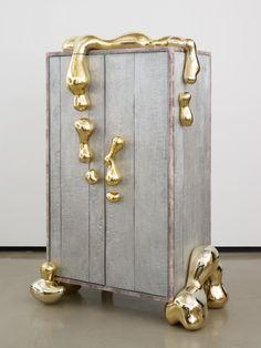 Mattia Bonetti - Liquid Gold cabinet | 1stdibs.com