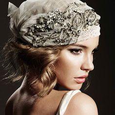 Bohemeim Wedding headpiece