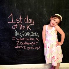 First day of Pre K :)