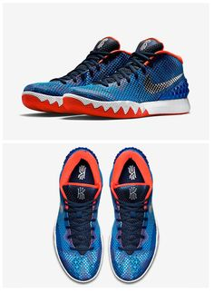 Nike Kyrie 1 Blue Rasberry