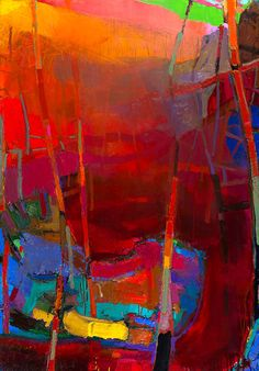 Jerald Melberg Gallery > Exhibitions > Current Exhibitions > Brian Rutenberg: River > Rutenberg - Red River