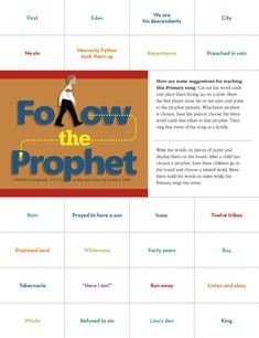 Follow the Prophet - Friend magazine, March 2010.  9th verse about President Monson?