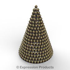 Black Acrylic Ferrero Rocher display stand / pyramid, wedding sweet stand