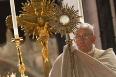 """Worthy of """"Awe"""": The Blessed Sacrament - by Virginia Lieto - What do you hold in awe? Is it fame and fortune? Or, do you hold God in awe; relishing in his awesomeness? Read to learn more... http://virginialieto.com/worthy-of-awe-the-blessed-sacrament/#.Vw5DwN_2Ydk"""