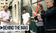 SOLO Skateboard Magazine - Behind The Mag   skatedeluxe - http://DAILYSKATETUBE.COM/solo-skateboard-magazine-behind-the-mag-skatedeluxe/ - Print is not dead! ______________________________________________________ (english below) Mit dem SOLO Skateboard Magazine erschien erst kürzlich ein neues Skateboard Mag für die deutsche und europäische Szene. Wir waren trafen im Vorfeld des Release-Events die kreativen Köpfe, Schreiberlinge und G - behind, magazine, skateboard, skate