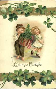 Vintage St Patricks Day | The Smith Family Update: Vintage Postcards - St. Patricks Day