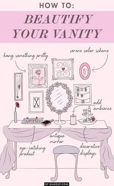 How to make your vanity table a beautiful space. pic.twitter.com/HY4UIQmENM