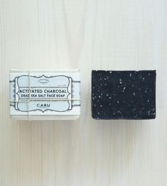 Activated Charcoal & Dead Sea Salt Face Soap / by Caru Skincare Co.