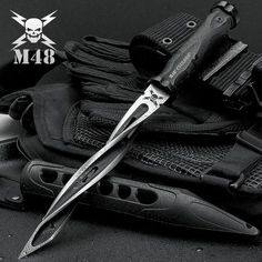 Cyclone Tri-Edged Spiraling Dagger Knife With Custom Vortec Sh. - Cyclone Tri-Edged Spiraling Dagger Knife With Custom Vortec SheathYou have never seen anything that compares to United Cutlery s Cyclone Fixed Blade Knife! Tactical Knives, Tactical Gear, Tactical Survival, Survival Knife, Survival Gear, Survival Weapons, Survival Prepping, Blade City, United Cutlery