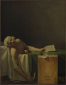Jacques-Louis David - The Death of Marat, 1793